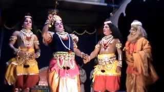 Yakshagana -- Kusha  Lava - 7 - Siddakatte Chennappa shetty as Shri rama