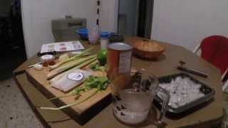 Cooking With Realmanpwns - Thai Coconut Shrimp Soup With Lemongrass And Red Curry Paste