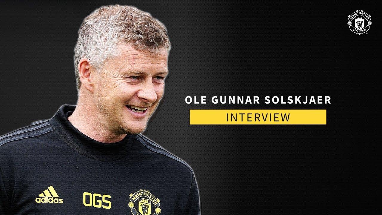 Ole Gunnar Solskjaer | Exclusive Interview | Manchester United | Tour 2019