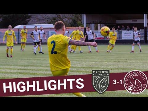 Extended Highlights: Merthyr Town 3-1 Taunton Town