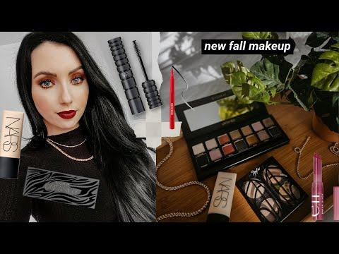 *new* FIRST IMPRESSIONS + Fall Makeup   NARS Soft Matte Foundation, Sigma Untamed Palette, Elf...