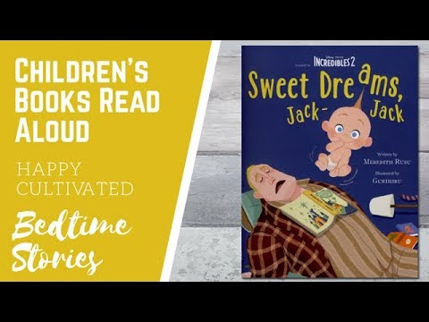 INCREDIBLES 2 Story Book Read Aloud | Sweet Dreams Jack Jack Book | Children's Books Read Aloud