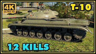 World of Tanks | T-10 - 12 Kills - 7,6K Damage Gameplay