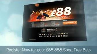 888 Sport £88 Free Bet Promo