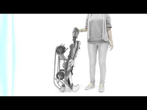 Санки коляска Скандинавия 6М Люкс + ВК