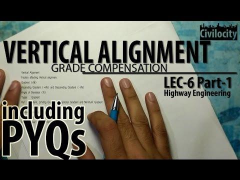 Vertical Alignment | Grade Compensation | Lec-6 Part-1 | GATE