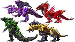 Toy Robot War Recolor #1: 8 Monsters (7 Colours of the Rainbow)   Eftsei Gaming