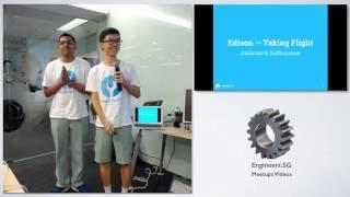 Intel Edison flight controller - Hackware v1.9
