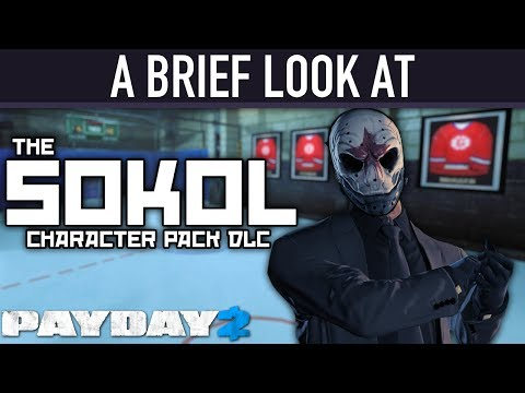 A brief look at The Sokol Character Pack DLC. [PAYDAY 2]