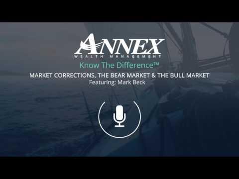Market Correction, The Bear Market & The Bull Market