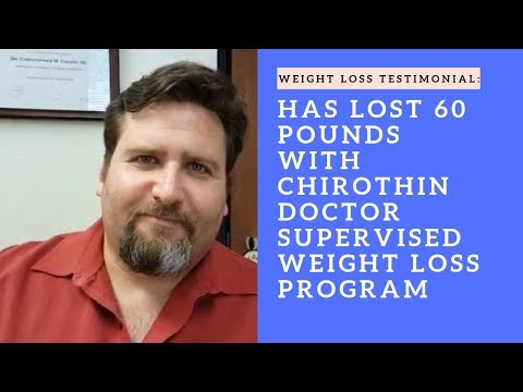 ilan lost 60 pounds using our ChiroThin Doctor Supervised Weight Loss Program in San Mateo,  Ca.