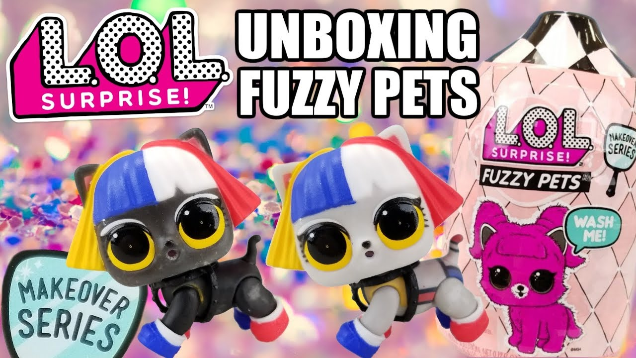 Dolls L.o.l Surprise Fuzzy Pets Makeover Series A Great Variety Of Goods