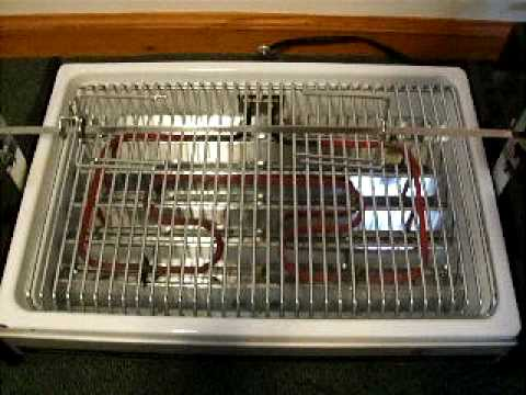 Dominion Smokeless Indoor Rotisserie/Grill for sale on eBay - YouTube
