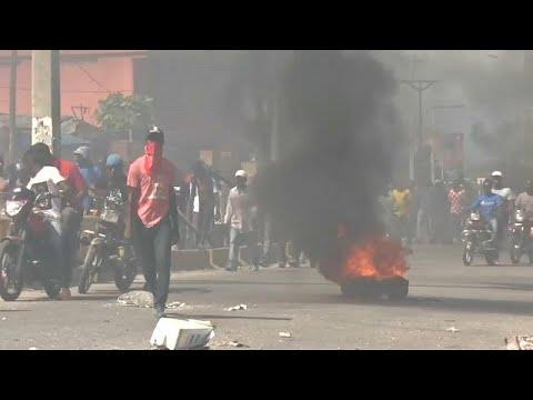 Protestos violentos contra a corrupção no Haiti