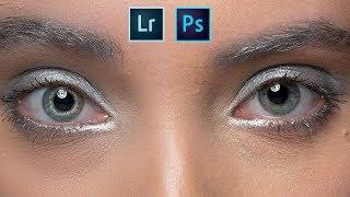 Photoshop ve Lightroom da Göz Re-Touch'ı Nasıl Yapılır