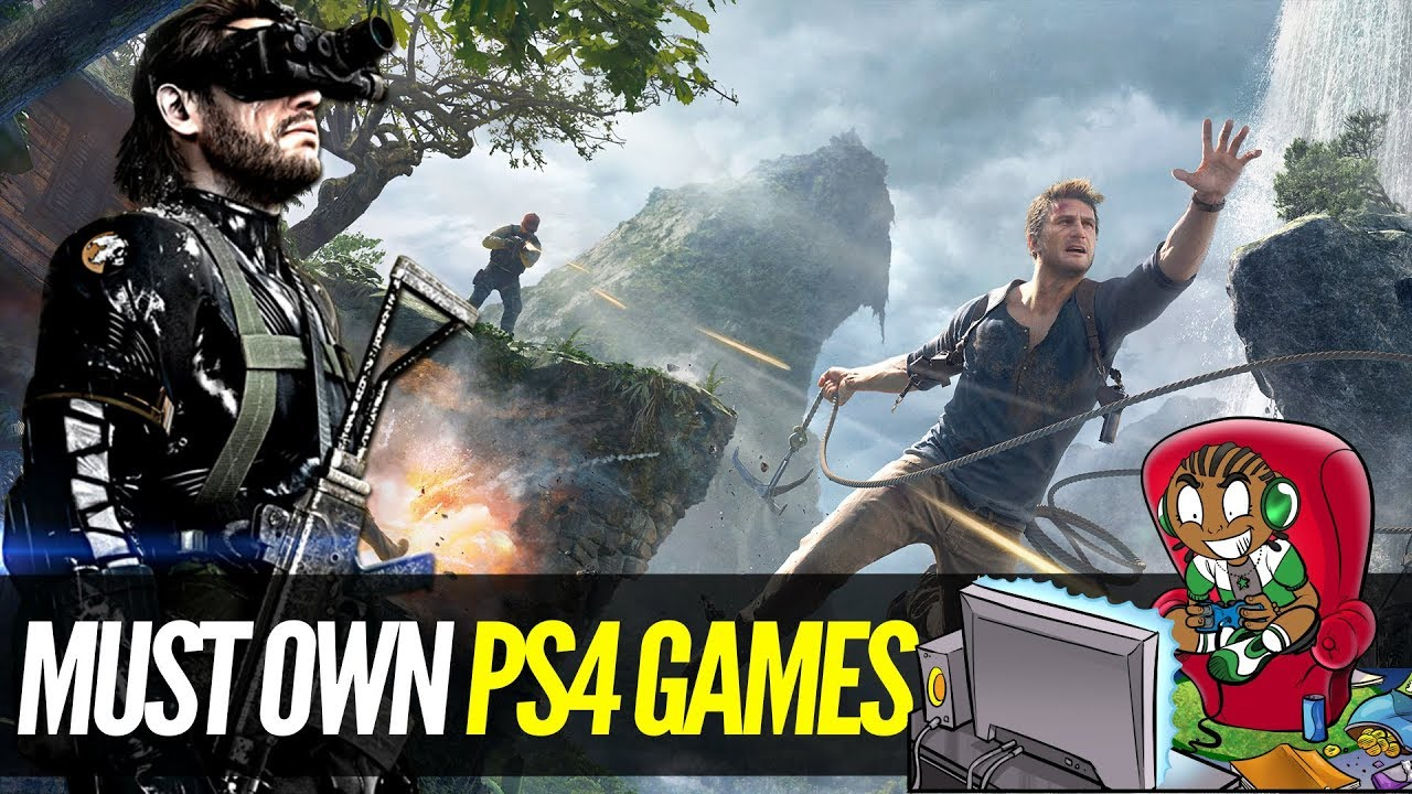 5 Must Own Ps4 Exclusive Games 5 Best Ps4 Games Youtube
