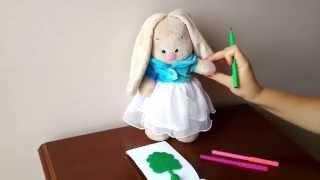 Учимся рисовать вместе с зайчиком. Развивающее видео для детей(Сегодня мы будем рисовать вместе с зайчиком картину. Посмотрев это видео дети смогут повторить и понять,..., 2015-09-12T07:07:15.000Z)