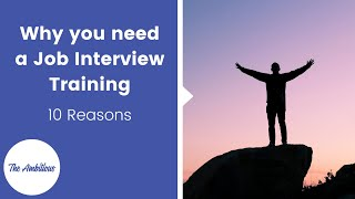 Why you need a job interview training