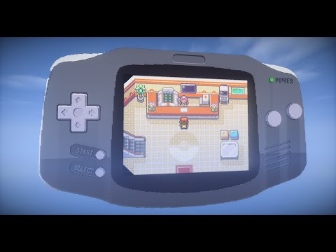 Somebody Built a Working POKÉMON Game Boy Advance Game in MINECRAFT