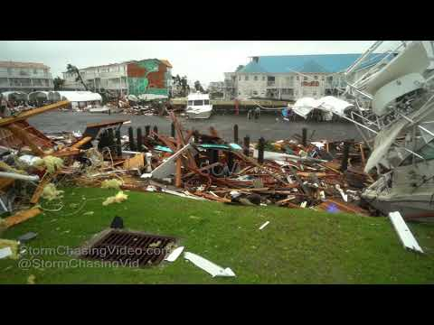 Mexico Beach, FL Massive devastation from Hurricane Michael - 10/10/2018