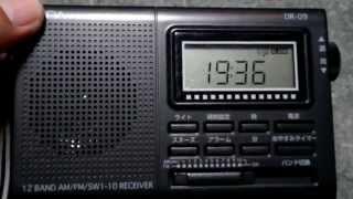 低価格ラジオ ELPA DR-09