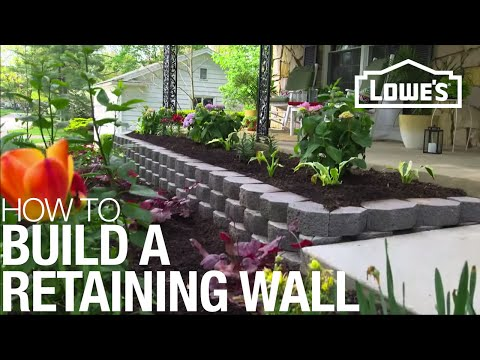 How To Build Retaining Wall
