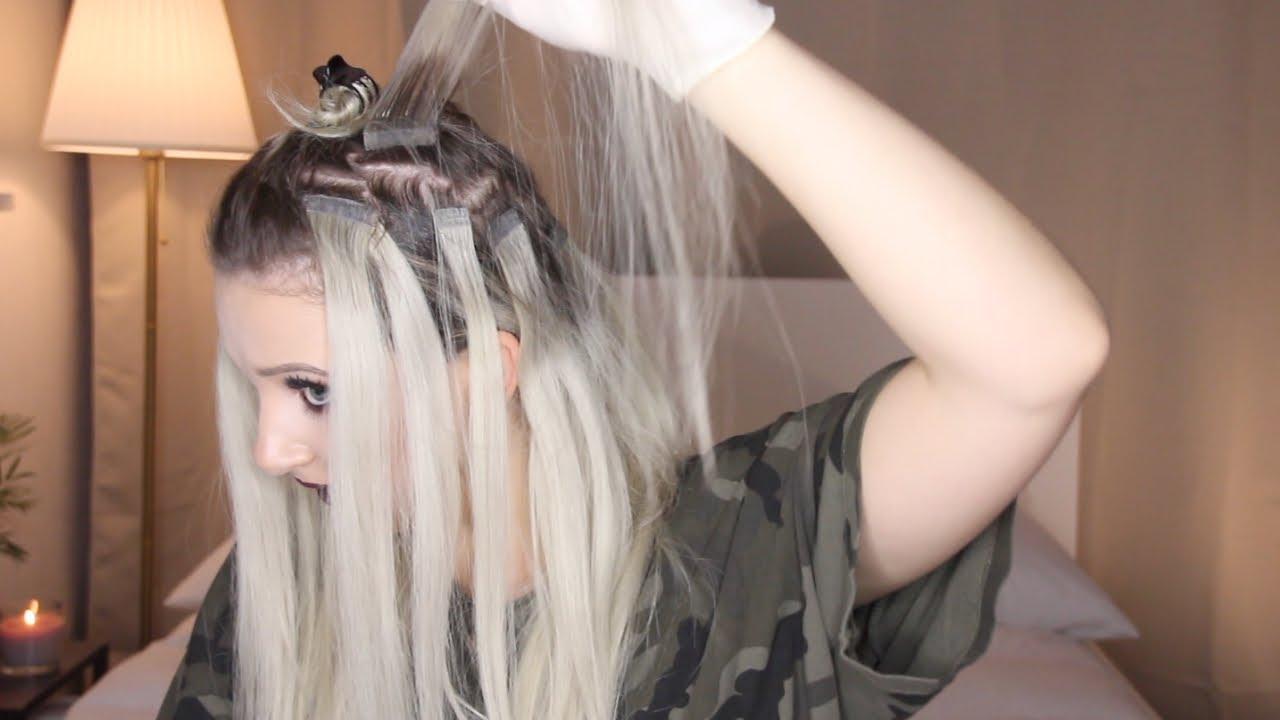 Haarverlangerung entfernen selbst