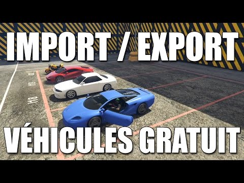 astuce gta 5 online avoir les voitures import export gratuit game. Black Bedroom Furniture Sets. Home Design Ideas