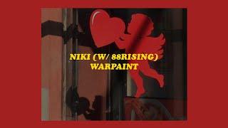 「Warpaint - NIKI w/88RISING (lyrics)♥️⚡️」