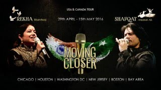 "MOVING CLOSER Concert: Shafqat Amanat Ali ""About Fusion Music"" - Akhiyan To Ole Ole - Fuzon"