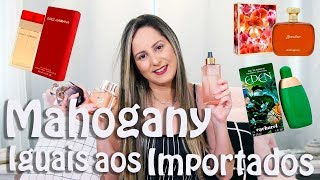 Perfumes da Mahogany Iguais aos Importados