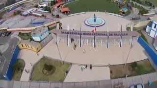 Drone de Ozono TV choca con cable de alta tensión