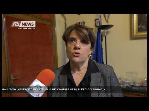 19/11/2019 | «ESERCITO DI PATTUGLIA NEI COMUNI? N...
