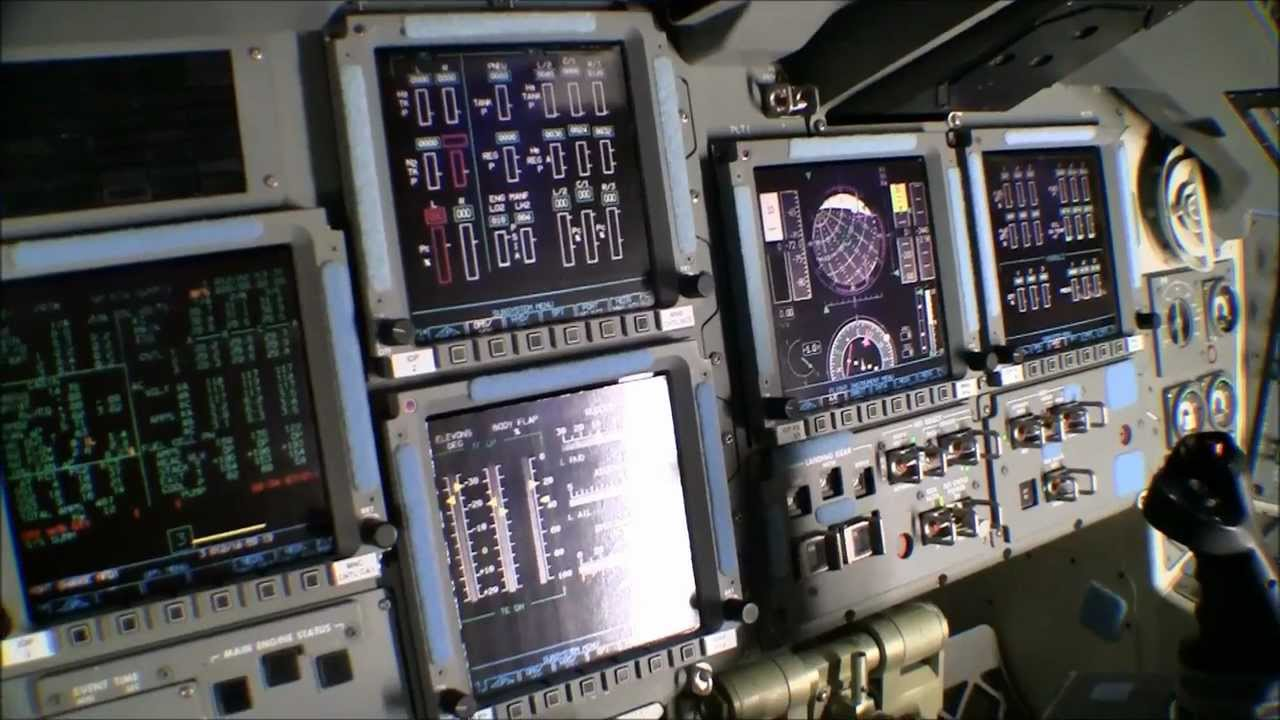 space shuttle launch cockpit view hd - photo #17