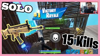 MY HIGHEST KILL GAME - FORTNITE BATTLE ROYAL RECORD