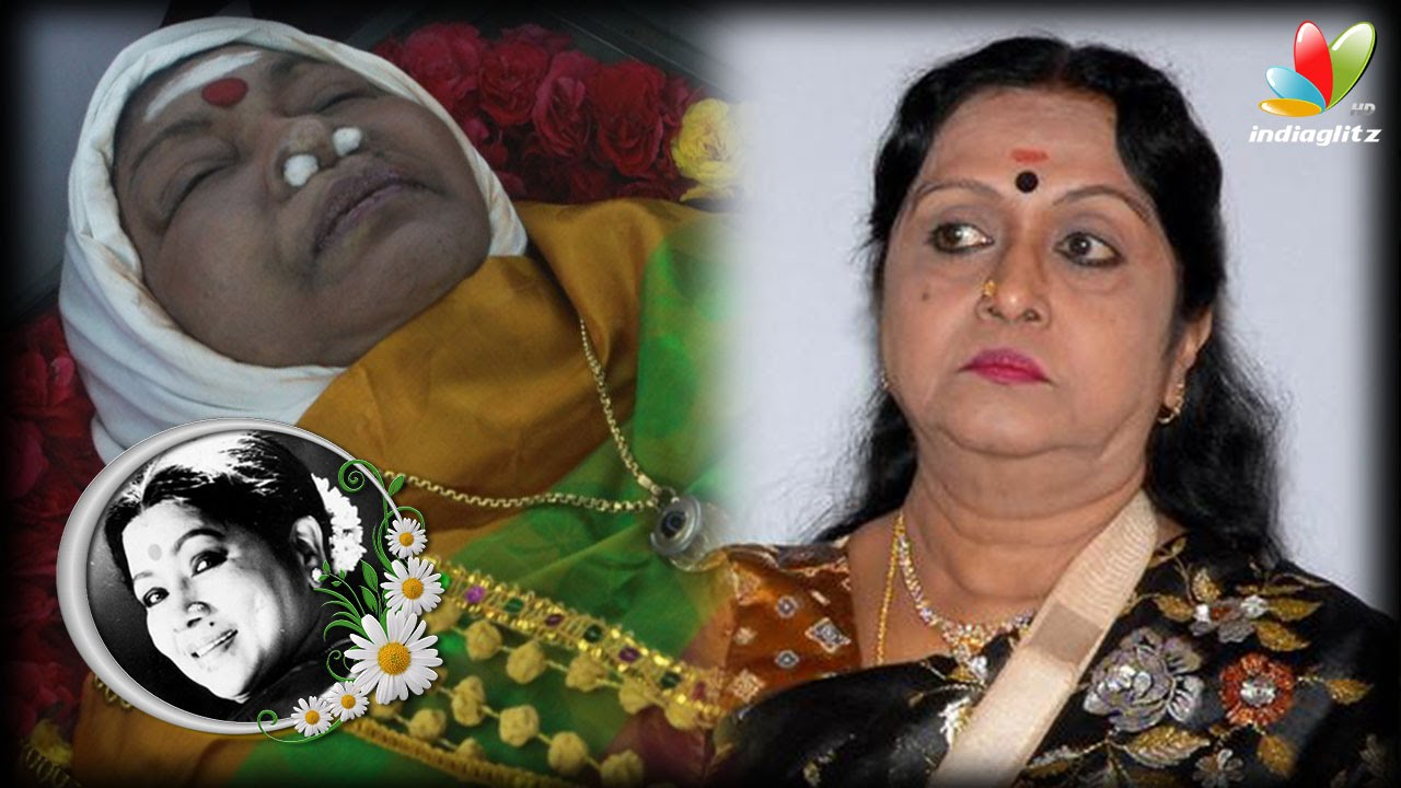 ... Devi Recalls Fond Memories Of Aachi Manorama | Death Video - YouTube