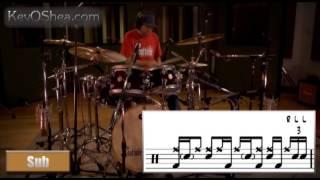 Pablo Gonzalez Gospel Chops   Drum Transcription 2014