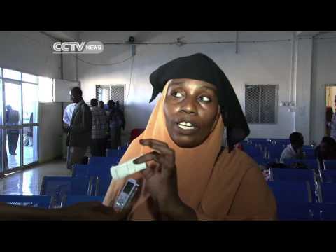 Deported Somalis Arrive in Somalia.