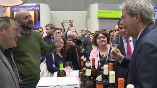 Gentiloni al Vinitaly 2018