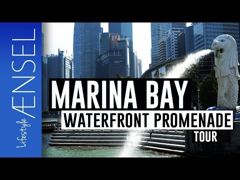 Marinay Bay Singapore - Waterfront Promenade - Merlion home - Singapore attractions #3