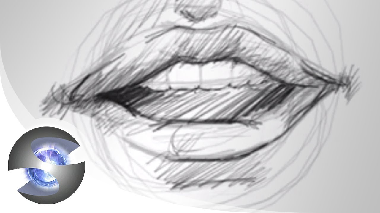 How To Draw Mouths - Youtube-8206