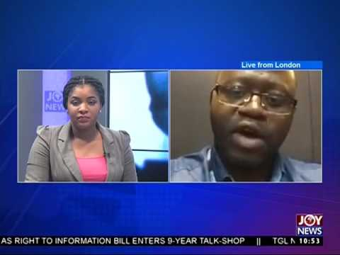 World Press Day - News desk on Joy News (3-5-17)