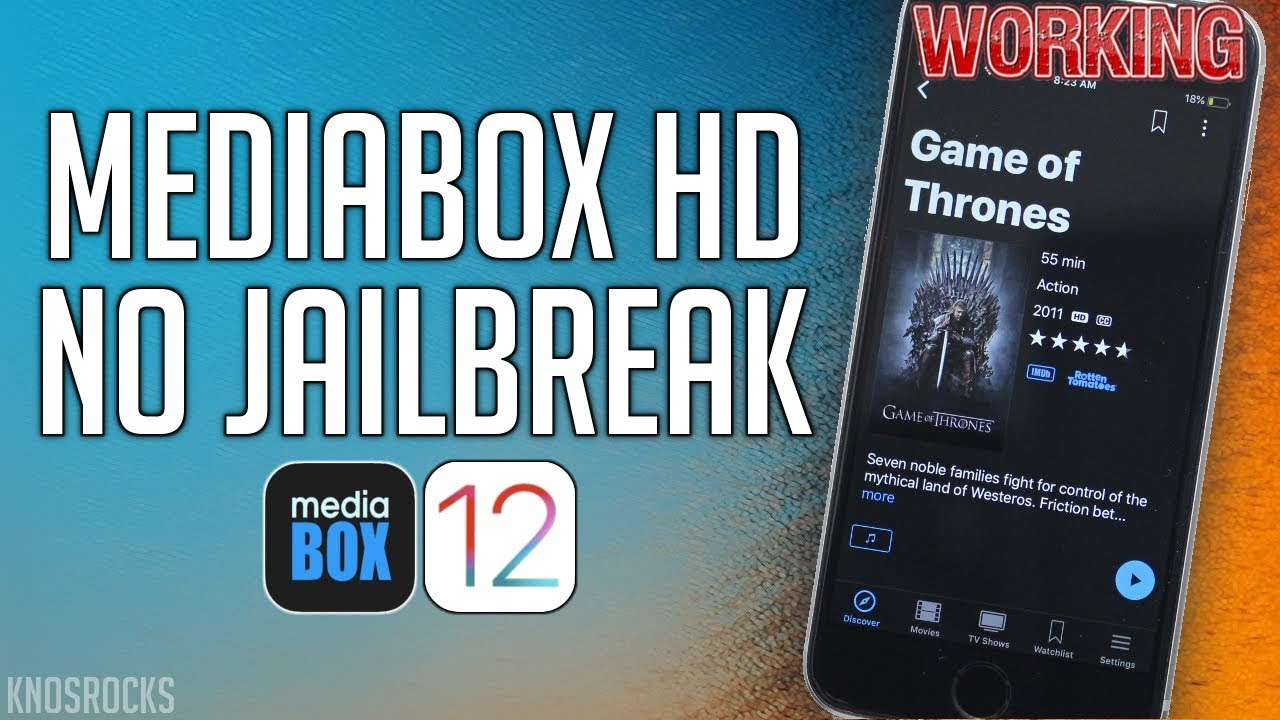NEW! Get MediaBox HD SIGNED!! Movie Box Alternative iOS 12 3 1 - 12 / 11 No  Jailbreak / PC iPhone