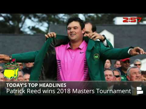 Patrick Reed Wins Masters, NBA Pre-Playoff Power Rankings, Klay Thompson Leads Warriors Past Suns - 동영상