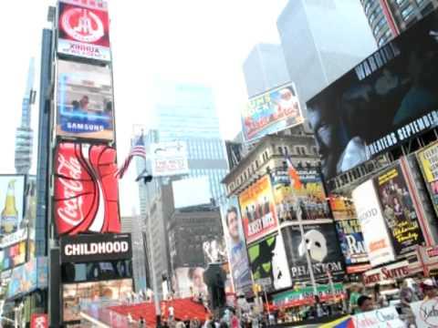 L'agence chinoise Xinhua fait sa publicité sur Times Square