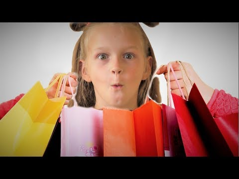 Let's go shopping song| | Идем на шоппинг за игрушками и поем прикольную песню