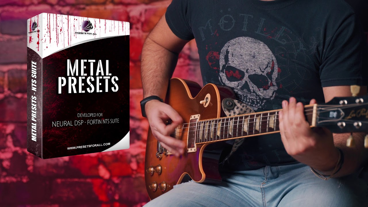 Metal Presets - Fortin NTS Neural DSP Demo Video Now Available!