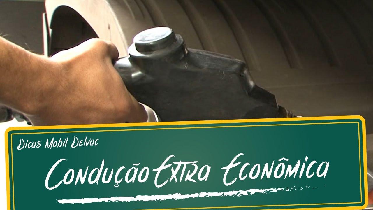 Dicas Mobil Delvac: Condução Extra Econômica