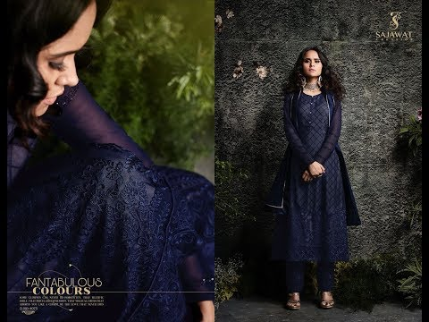 Latest Indian Dresses Collection 2018 || Sajawat Creation || Sajawat Taj Vol 2 Pakistani Collection