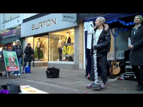 The Dualers - 'Kiss On The Lips' - Last Song, Last Romford Busk